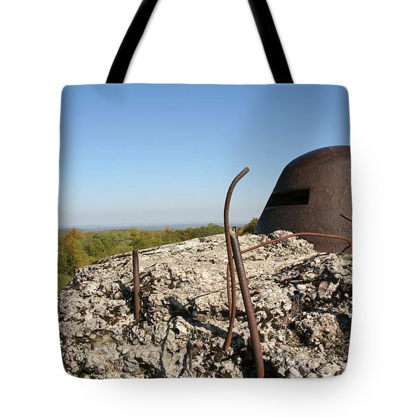 Tote Bag featuring the photograph Fort De Douaumont - Verdun by Travel Pics