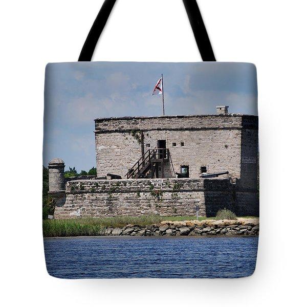 FORT MATANZAS Tote Bag by Skip Willits
