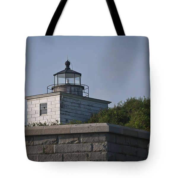 Fort Taber Lighthouse Tote Bag by David Gordon