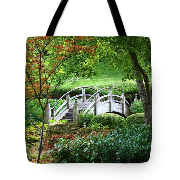 Fort Worth Botanic Garden Tote Bag by Joan Carroll