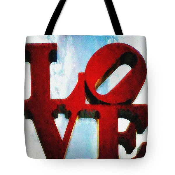 Fountain of Love  Tote Bag by Bill Cannon