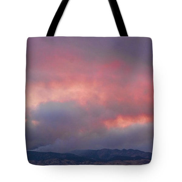 Fourmile Canyon Fire Image 90 Tote Bag by James BO  Insogna