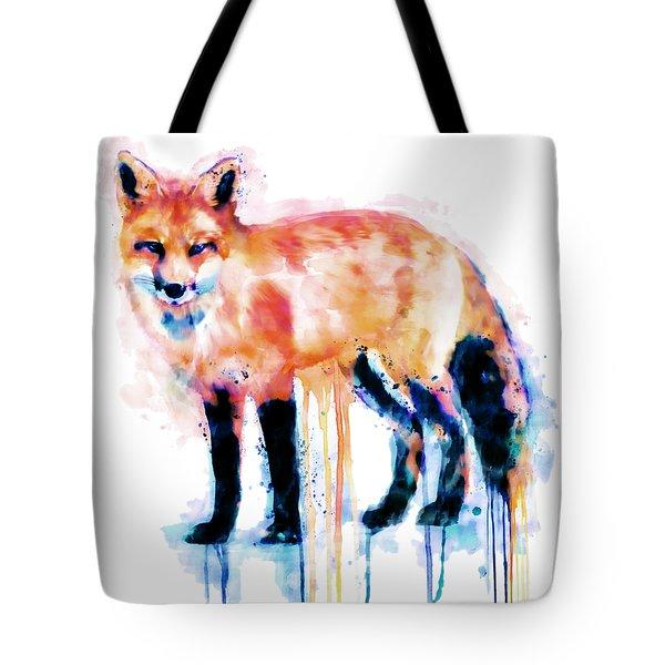 Fox  Tote Bag by Marian Voicu