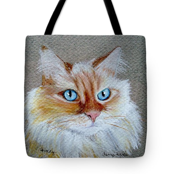 Foxey Tote Bag by Jamie Frier