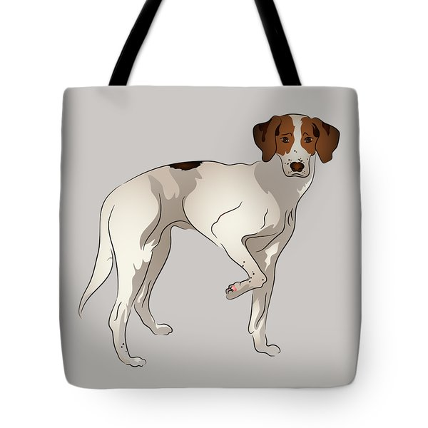 Foxhound Tote Bag by MM Anderson