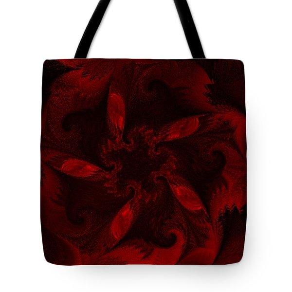 Fractal Garden 18 Tote Bag by David Lane