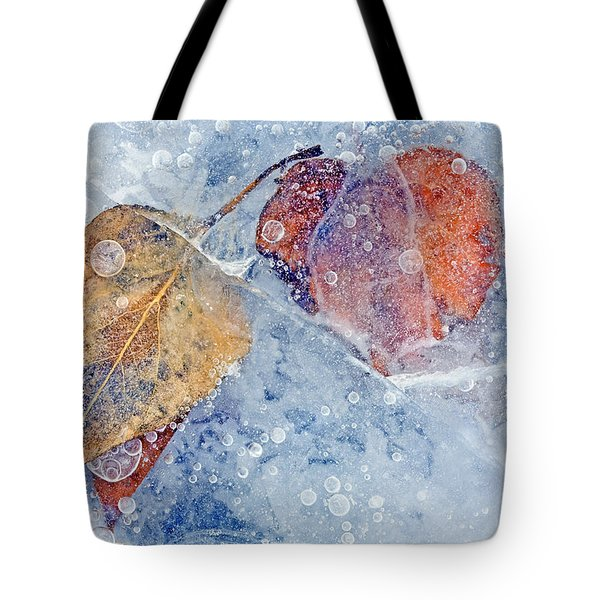 Fractured Seasons Tote Bag by Mike  Dawson