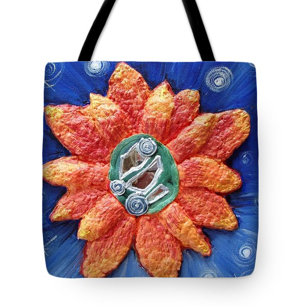 Fragrant Planet Tote Bag by Catt Kyriacou