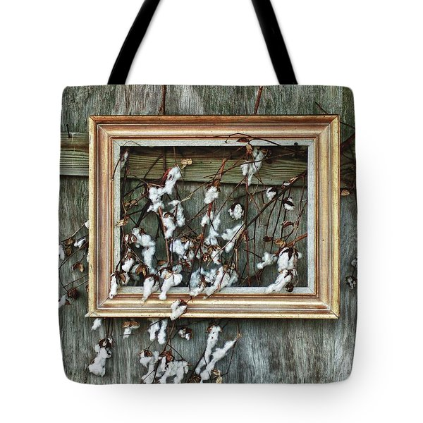 Framed Cotton Tote Bag by Michael Thomas