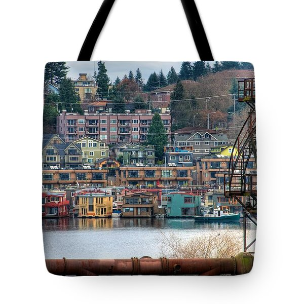 Framed in Seattle Tote Bag by Spencer McDonald
