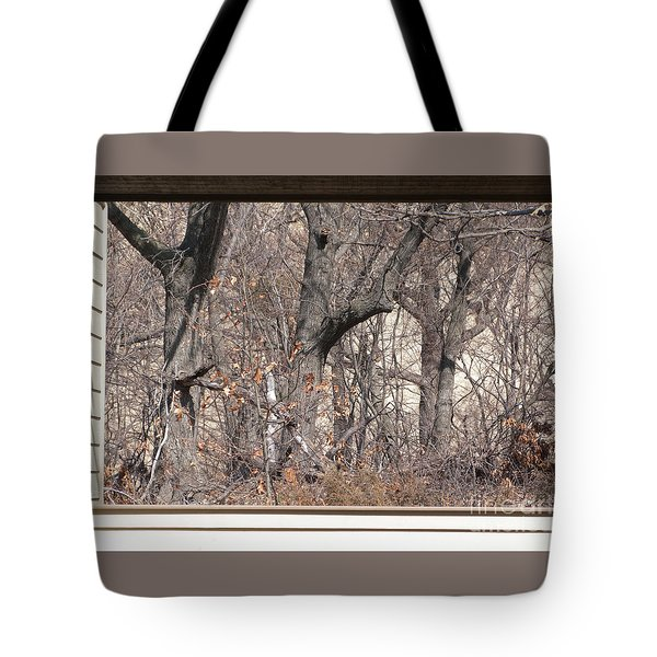 Framing Tangled Dunescape Tote Bag by Ann Horn