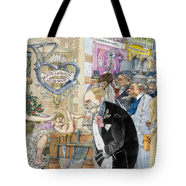 France: Brothel, 1904 Tote Bag by Granger