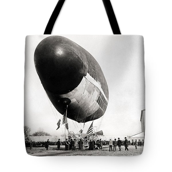 Francois Airship, 1904 Tote Bag by Granger