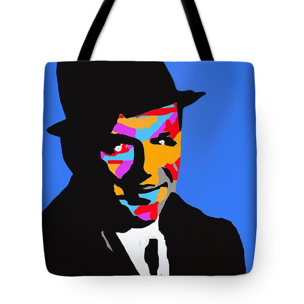 Frank Feeling Blue Tote Bag by Robert Margetts