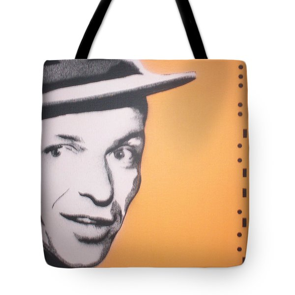 Frank Sinatra Tote Bag by Gary Hogben