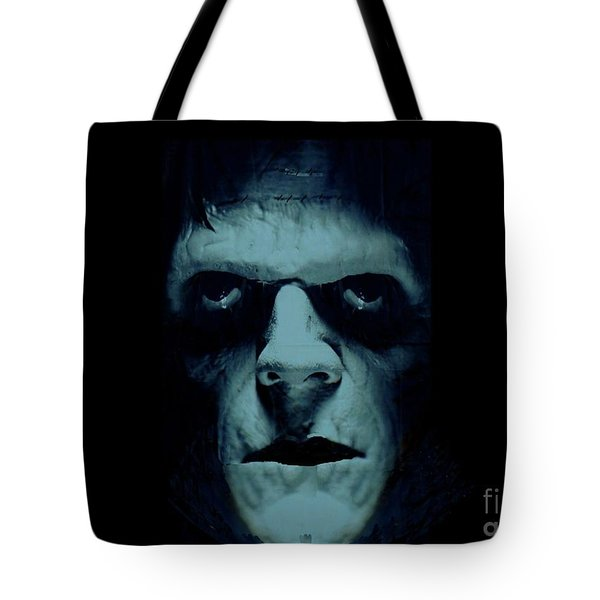 Frankenstein Tote Bag by Janette Boyd
