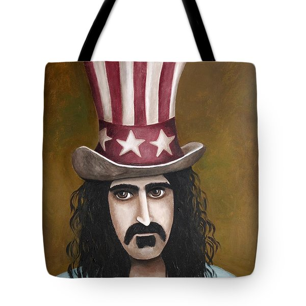 Franks Hat Tote Bag by Leah Saulnier The Painting Maniac