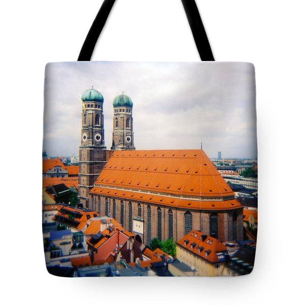 Frauenkirche Munich  Tote Bag by Kevin Smith