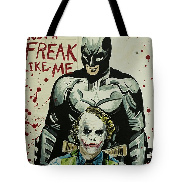 Freak Like Me Tote Bag by James Holko