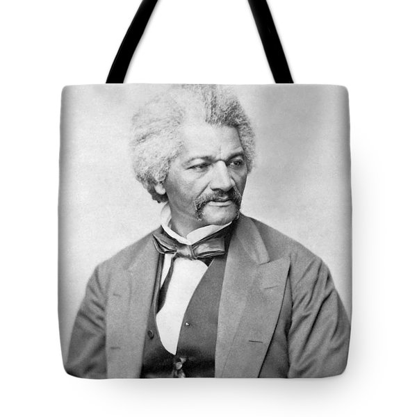 Frederick Douglass Tote Bag by War Is Hell Store