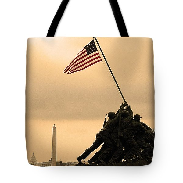 Freedom Tote Bag by Mitch Cat