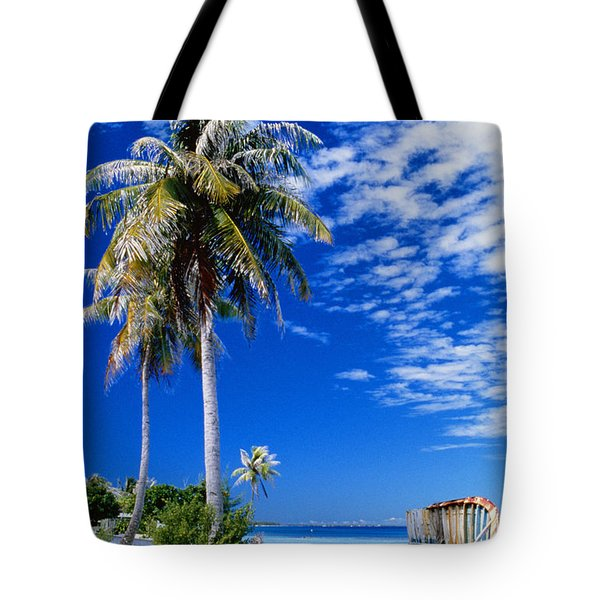 French Polynesia, Beach Tote Bag by Peter Stone - Printscapes