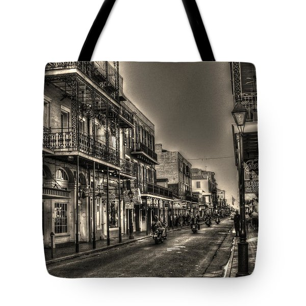 French Quarter Ride Tote Bag by Greg and Chrystal Mimbs