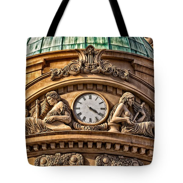 French Time Tote Bag by Christopher Holmes