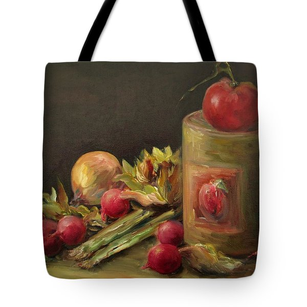 Freshly Picked Tote Bag by Mary Wolf