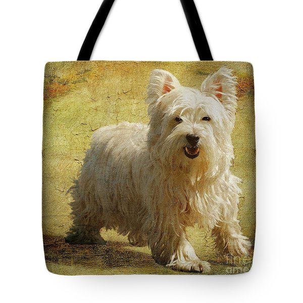 Friendly Smile Tote Bag by Lois Bryan