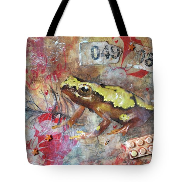 Frog Prince Tote Bag by Jennifer Kelly