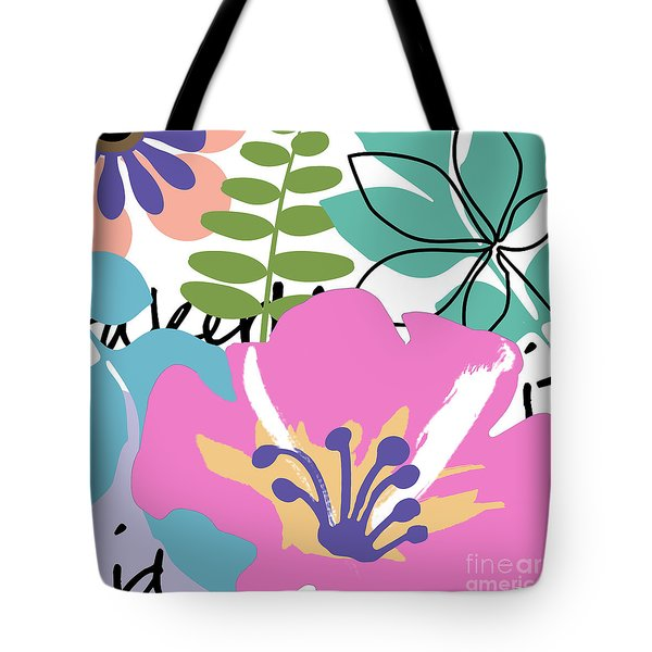 Frou Frou Tote Bag by Mindy Sommers