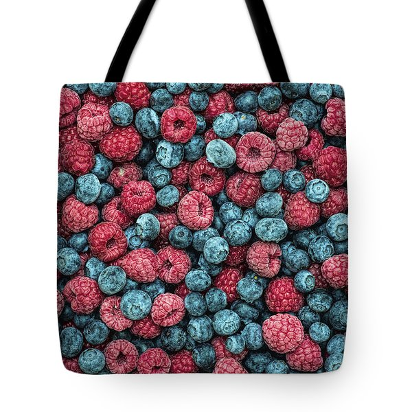 Frozen Berries Tote Bag by Tim Gainey