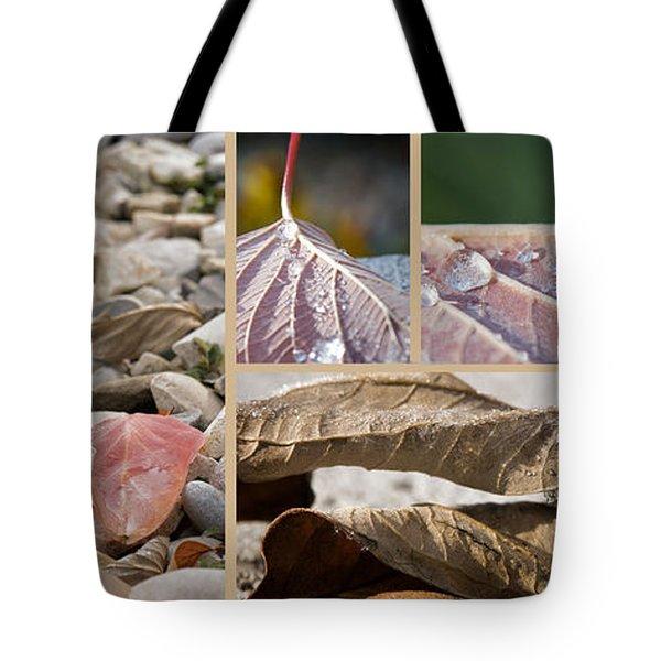 Frozen Dew Tote Bag by Lisa Knechtel
