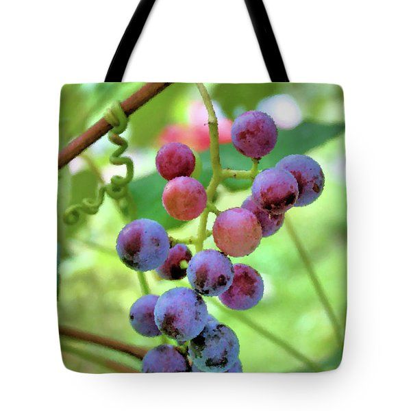 Fruit of the Vine Tote Bag by Kristin Elmquist