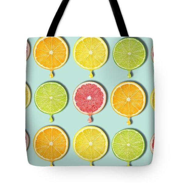 Fruity Tote Bag by Mark Ashkenazi