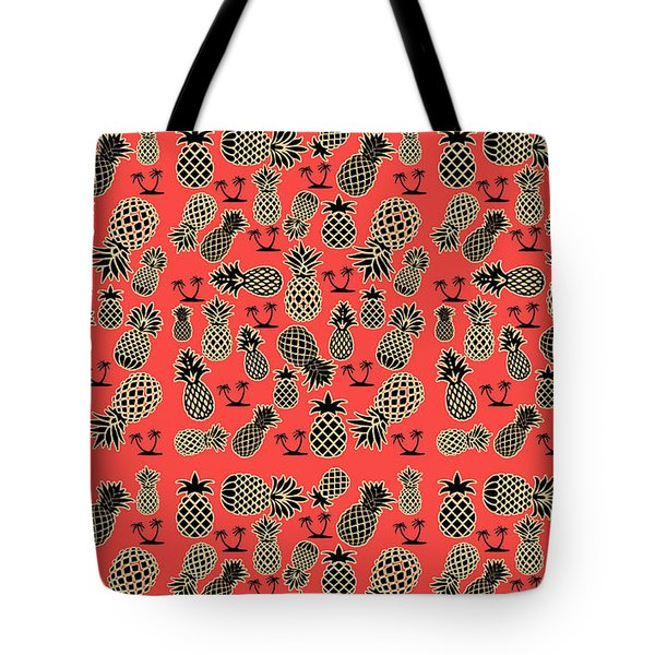 Fruity Pineapple  Tote Bag by Naviblue