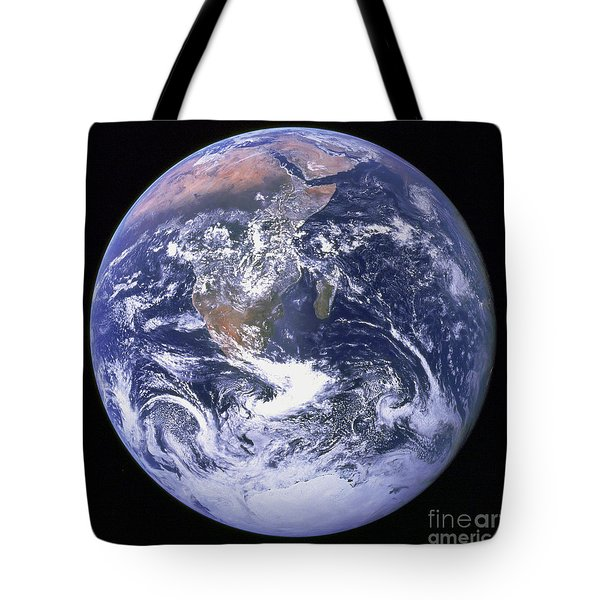 Full Earth Tote Bag by Stocktrek Images