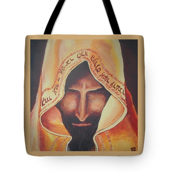 Fundraise Series 3 Praying Jew Tote Bag by Kerstin Berthold
