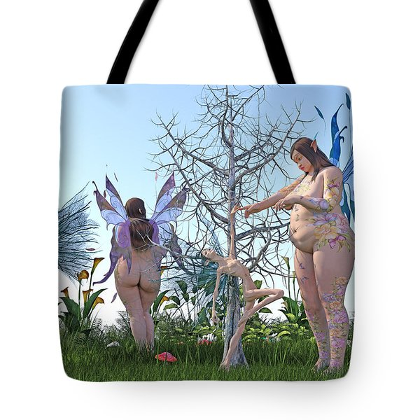 Gained Loss  Tote Bag by Betsy Knapp