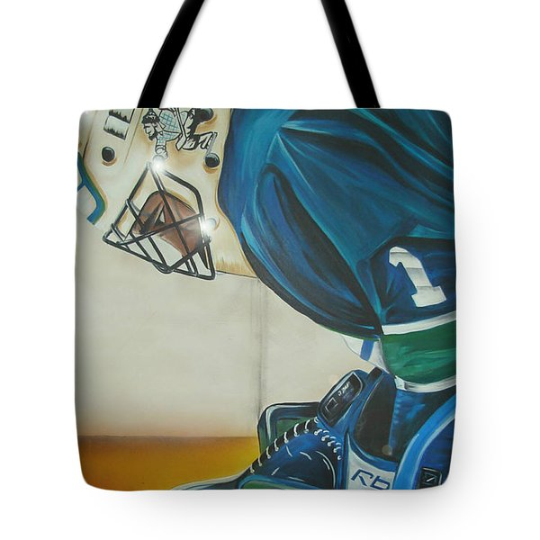 Game On Tote Bag by Gordon Paterson