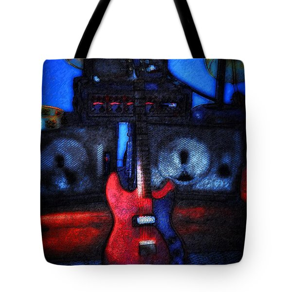 Garage Rock Tote Bag by Bill Cannon