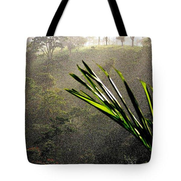Garden of Eden Rain Tote Bag by KAREN WILES