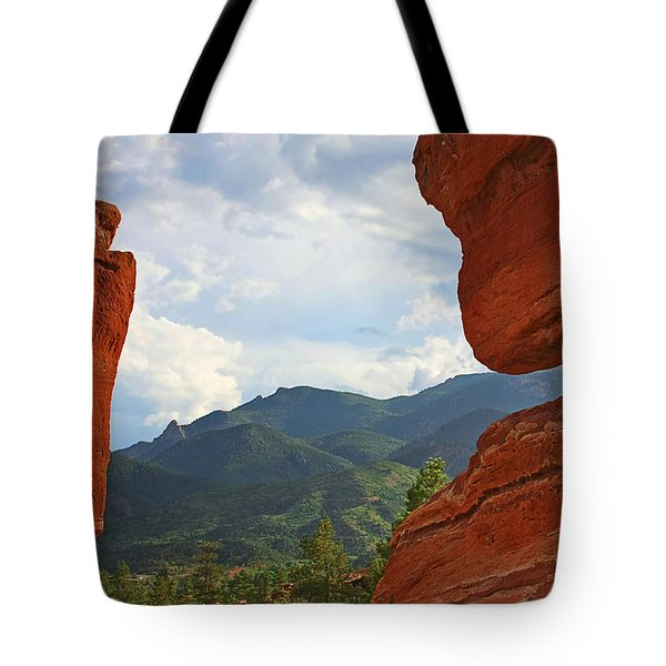 Garden Of The Gods - Colorado Springs Tote Bag by Christine Till
