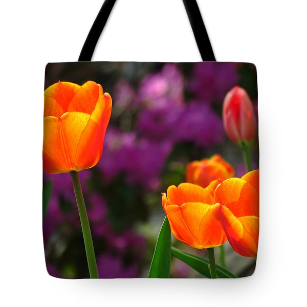 Garden Party Tote Bag by Juergen Roth
