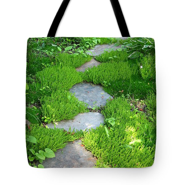 Garden Path Tote Bag by Idaho Scenic Images Linda Lantzy
