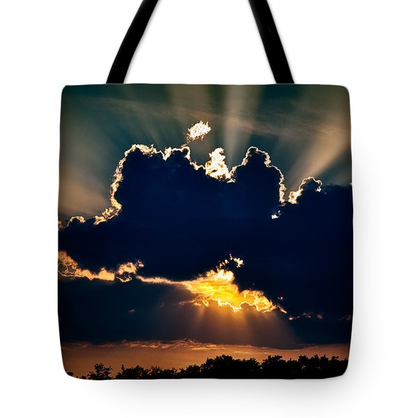 Gate To The Golden City Tote Bag by Christopher Holmes