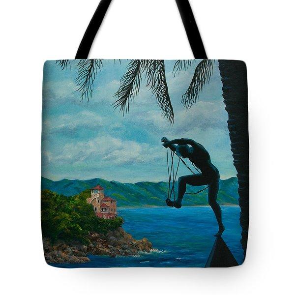 Gateway to Portofino Tote Bag by Charlotte Blanchard