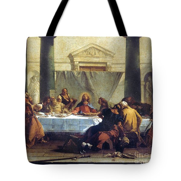 G.b. Tiepolo: Last Supper Tote Bag by Granger