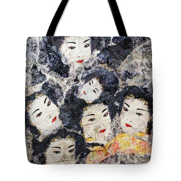 Geisha Tote Bag by Shelley Jones